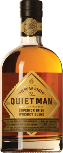 The Quiet Man Blended Irish Whiskey
